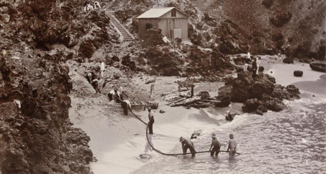Comienza la instalación del primer cable telefónico trasatlántico