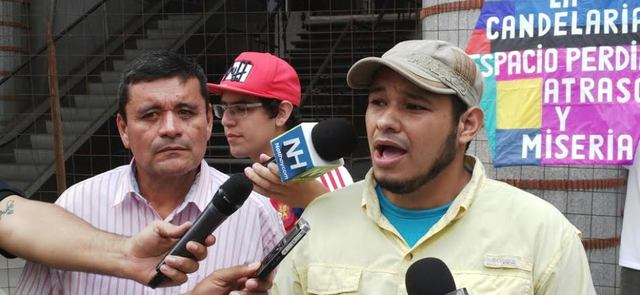 Detención de periodista Carlos Julio Rojas
