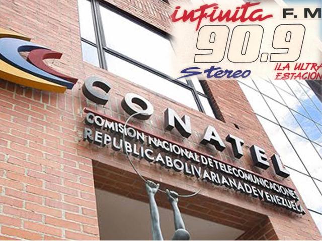 CONATEL decide no renovar concesión a emirosa INFINITA 90.9 FM en Barinas