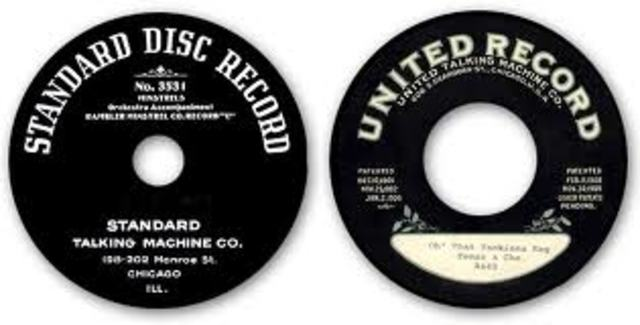 Double Sided 78 RPM Disc