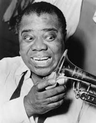 """Louis Armstrong records """"West End Blues"""""""