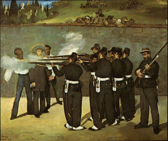 Fusilamiento de Mejía, Miramón y Maximiliano