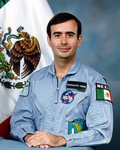 Rodolfo Neri se convierte 1rer Mexicano en el espacio