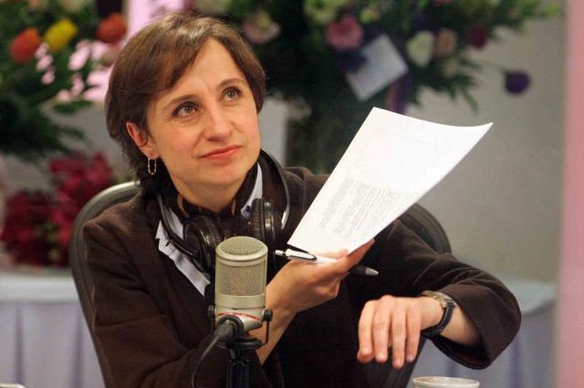 fue despedida Carmen Aristegui