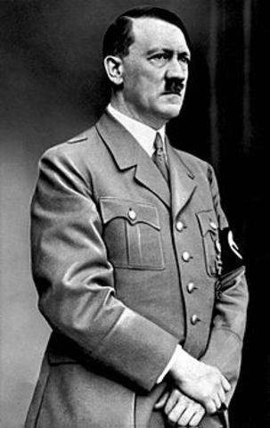 HItler comes to power as the head of the Nazi Party