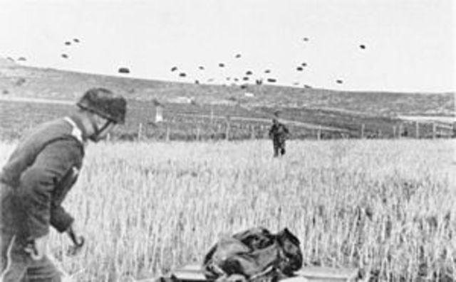 Germany invades Crete, Greece