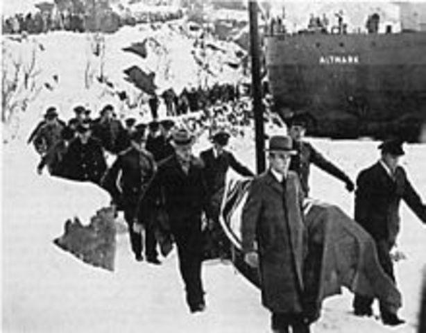 Germany invades Denmark, Norway