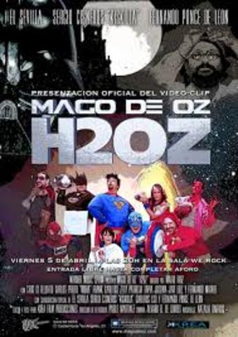 "estreno del nuevo videoclip ""H2OZ"""