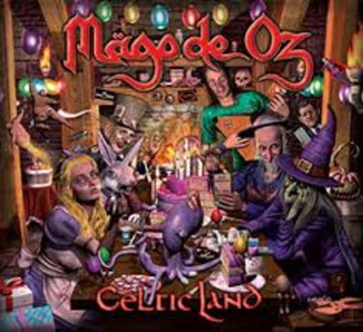 Publicacion del primer sencillo del album Celtic Land