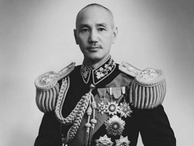 Jiang Jieshi took control