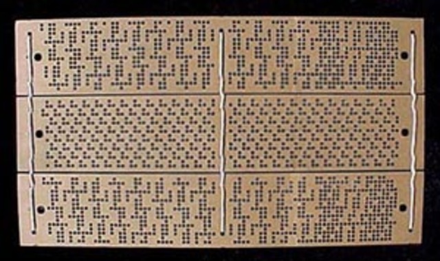 Tarjeta Perforada