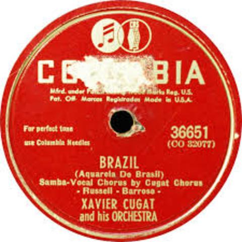 """Brazil"": Xavier Cugat"