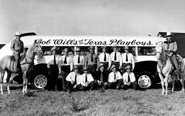 """San Antonio Rose"": Bob Wills and his Texas Playboys"