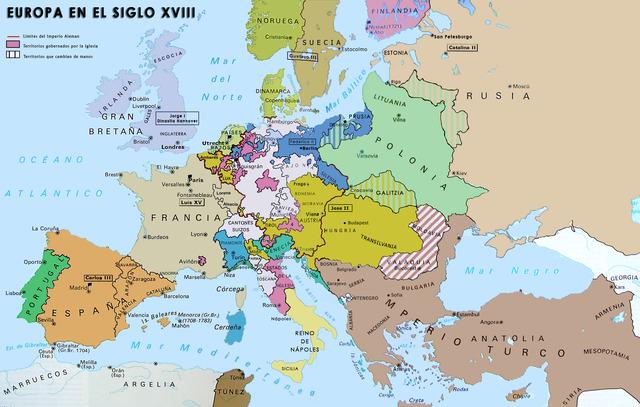 Los siglos XVII y XVIII