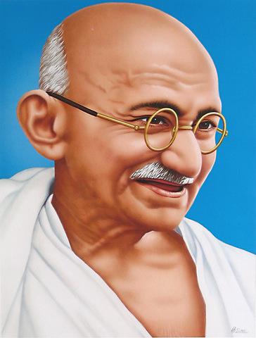 Gandhi enters high school.