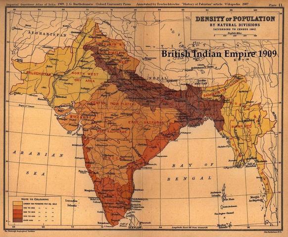 Gandhi celebrates India's independence from England.