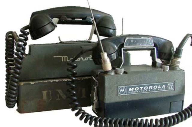 Primer equipo de comunicación vía ondas de radio
