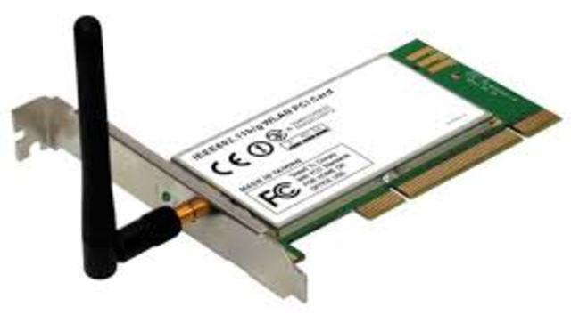 Aparece la primera tarjeta inalambrica de red para PC