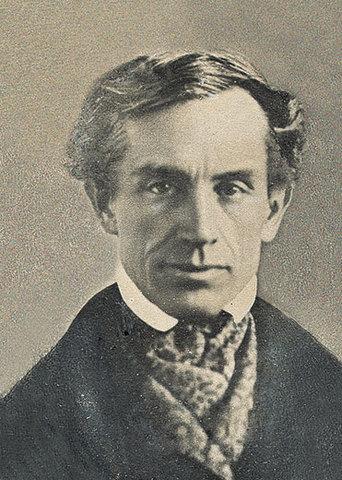 La primera patente de Morse