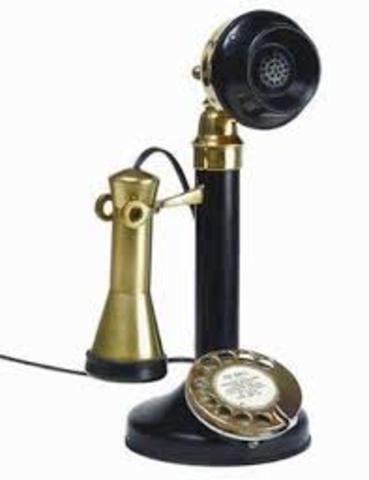 Primer teléfono/Primer micrófono