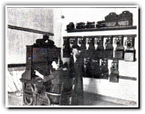 Se instala la primera central Telefónica en New Haven