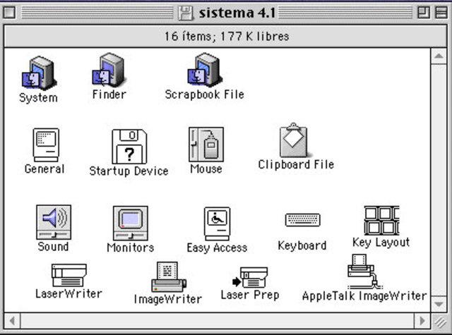 Sistema 4 mac