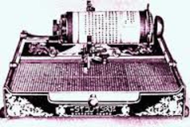 Primer teclado