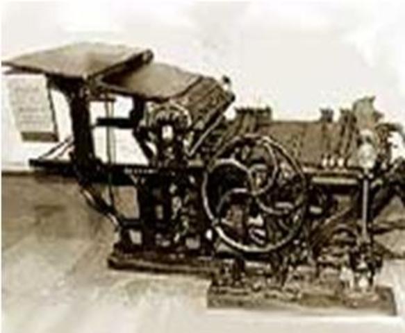 Primera impresora eléctrica