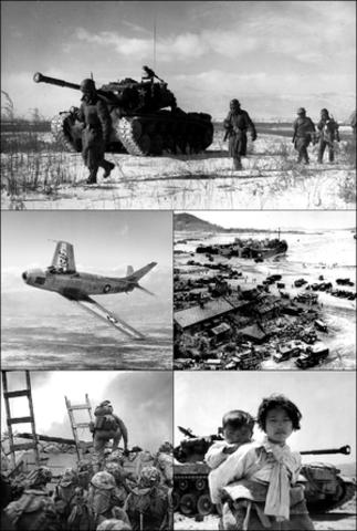 US and Soviet Russia Korean war