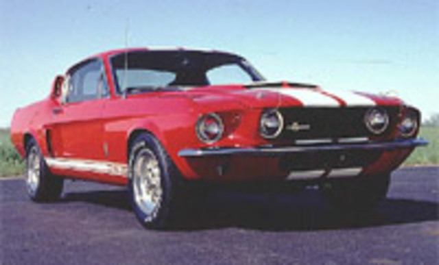 Firts Redesing for Mustang