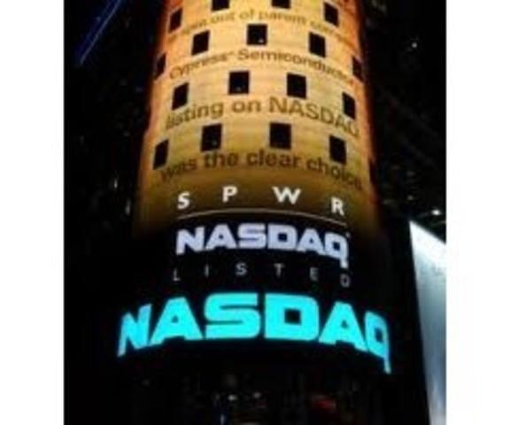 En 1971 El NASDAQ
