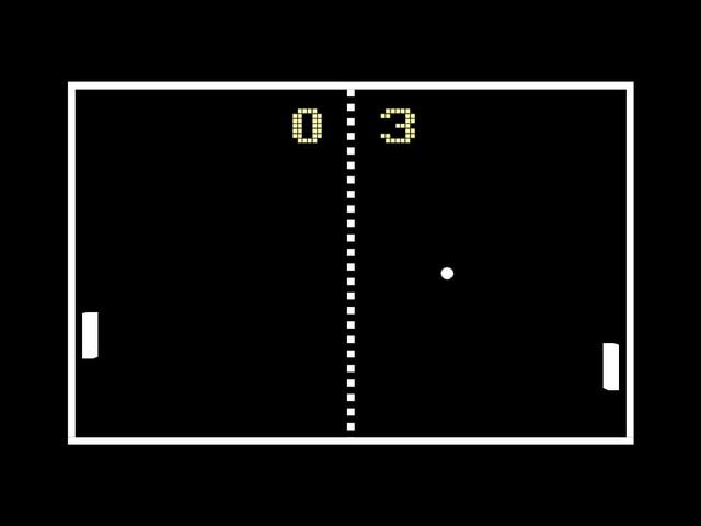 1975 - Atari Computers - Pong