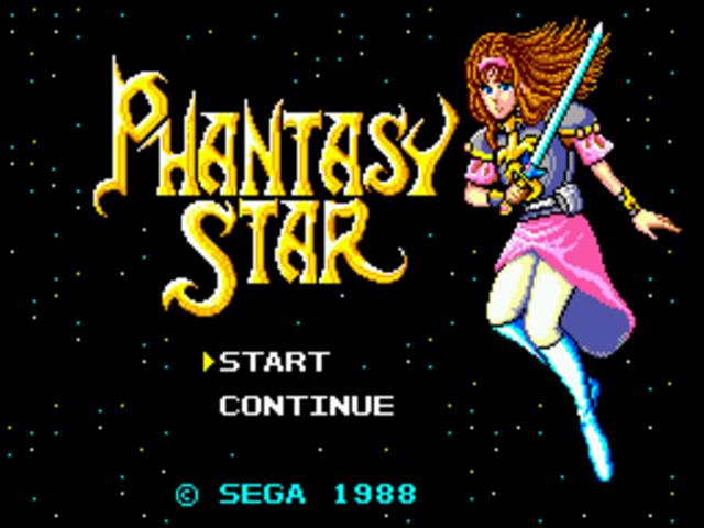 Sega - Phantasy star
