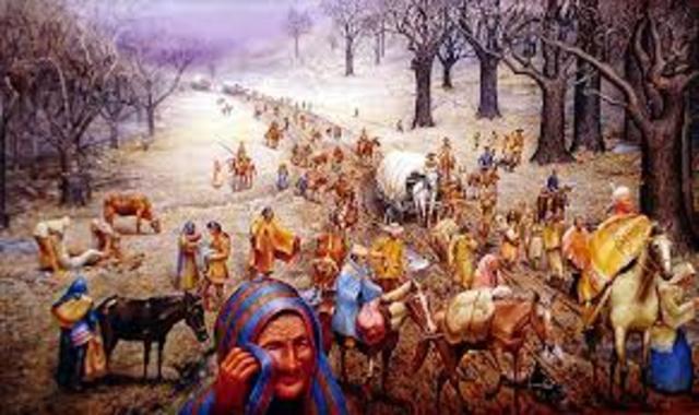 Trail of Tears 1838-1839