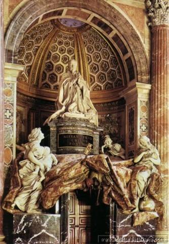 Tomba di Alessandro VII