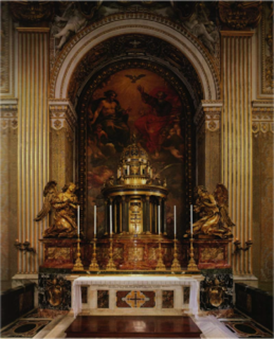 Altare del SS Sacramento