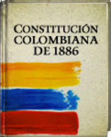 PROMULGACIÓN DE LA CONSTITUCIÓN 1886.