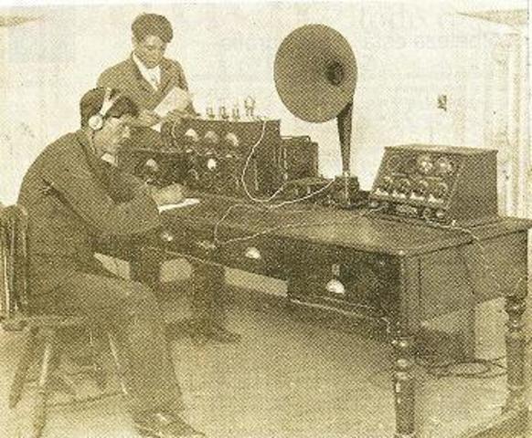 A criação do Rádio