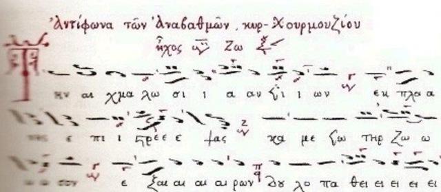 Notación Bizantina