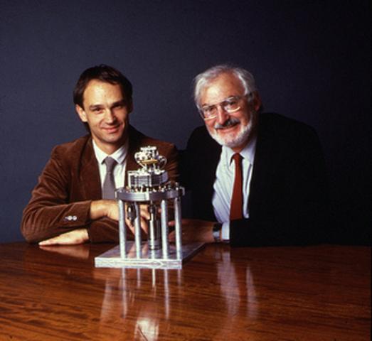 Gerd Binnig & Heinrich Rohrer