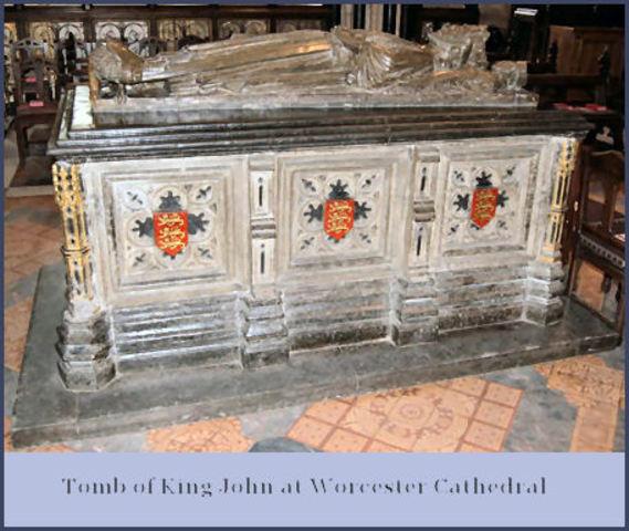 King John's death.