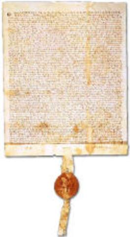 The Barons War and the Magna Carta.