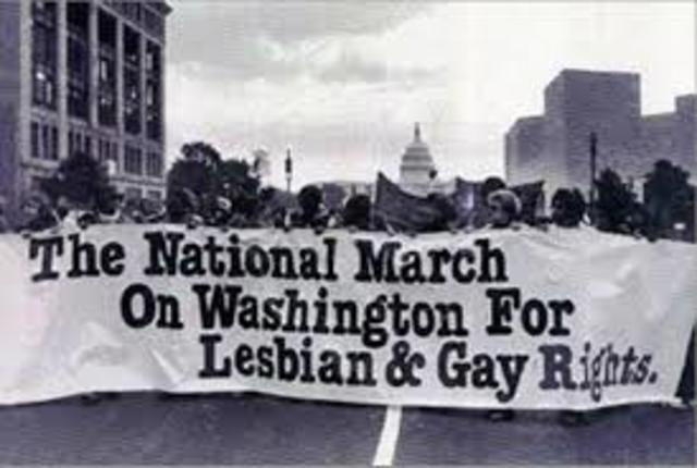 National March on Washington for gay rights