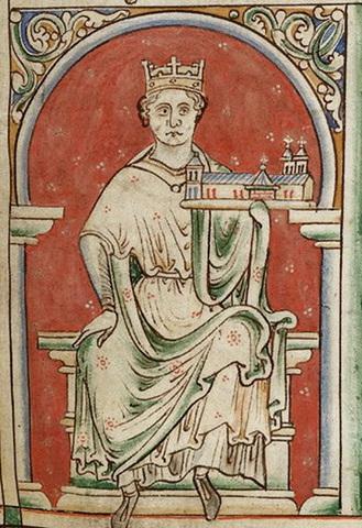 John was crowned King.