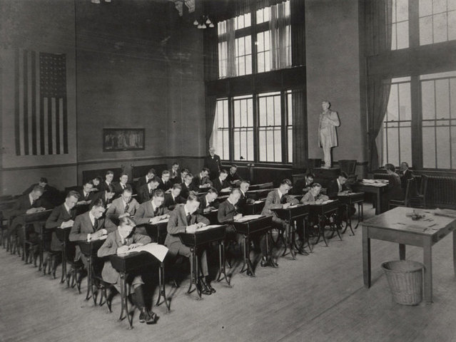 First guidance program in schools