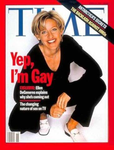 Ellen de Generes comes out
