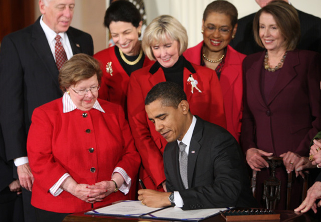 President Obama gives gays and lesbians completely equal benefits