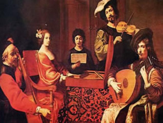 musica de los 1600-1675