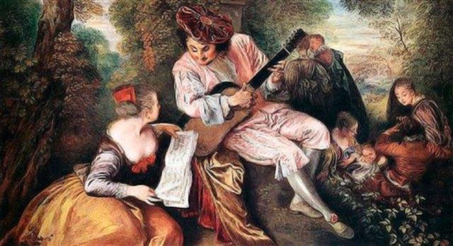 musica de los 1725-1760