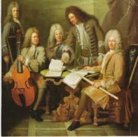 musica de los 1650-1675